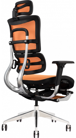 11Офісне крісло GT Racer X-802L Orange (W-23)