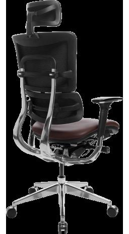 Офісне крісло GT Racer X-807 Leather Burgundy (P-01)