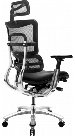 Офісне крісло GT Racer X-809 Black (W-31, B-41)