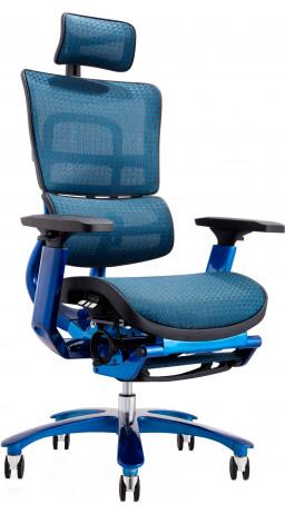 Офісне крісло GT Racer X-815L Black/Blue