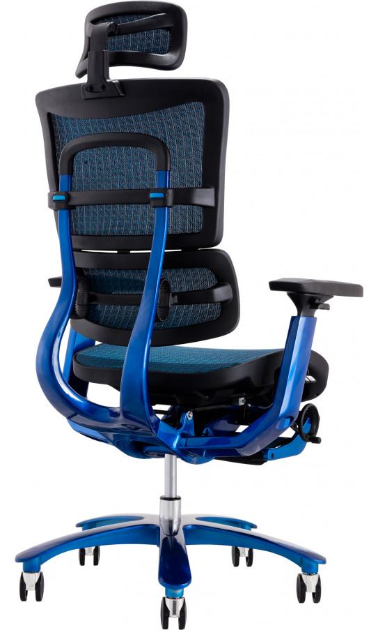 Кресло GT Racer X-815L Black/Blue (W-85)