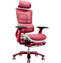 Офісне крісло GT Racer X-815L White/Red