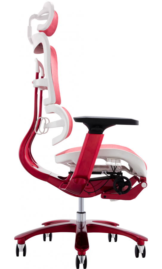 Крісло GT Racer X-815L White/Red