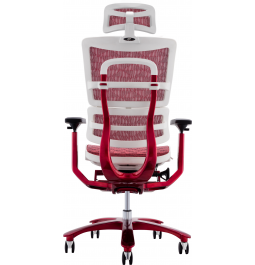 Крісло GT Racer X-815L White/Red (W-52)