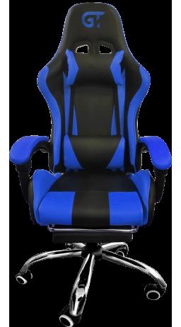 11Геймерське крісло GT Racer X-9002 Black/Blue