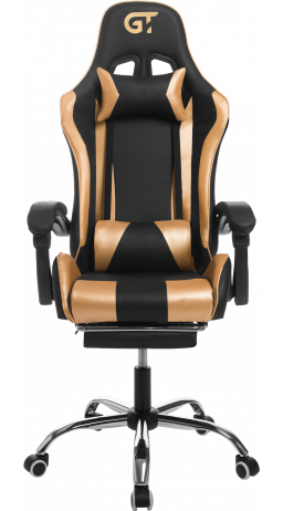 11Gaming chair GT Racer X-9002 Black/Gold