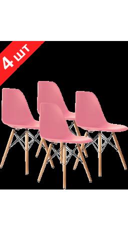 Комплект стільців GT Racer X-D10 Pink (4 шт)