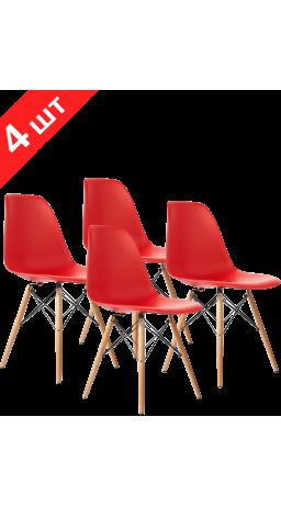 Комплект стільців GT Racer X-D10 Red (4 шт)