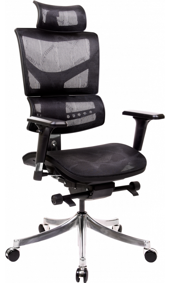 Офисное кресло GT Racer X-D18 Black