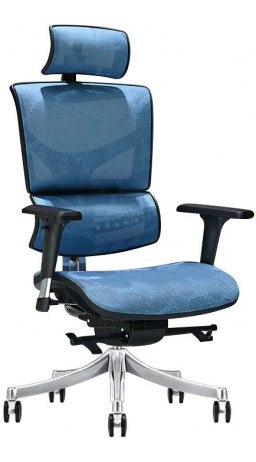 Офисне крісло GT Racer X-D18 Blue