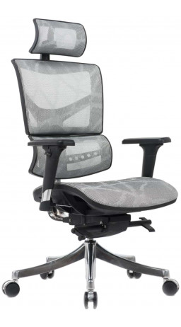 Офисне крісло GT Racer X-D18 Light Gray