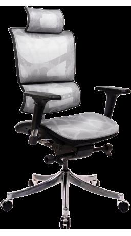 Офисное кресло GT Racer X-D18 Light Gray