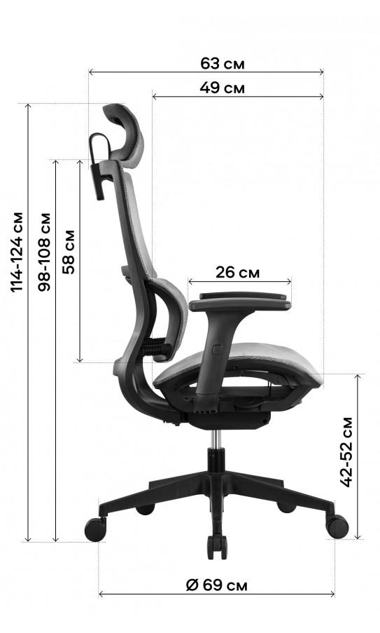 Офисне крісло GT Racer X-D20 Red