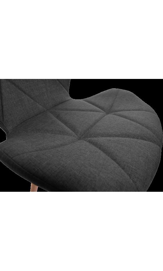 Комплект стільців GT Racer X-D27 Fabric Dark Gray (4 шт)