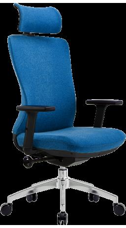 Офісне крісло GT Racer X-E326H Fabric Blue