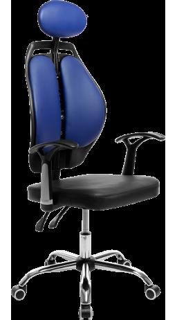 Офісне крісло GT Racer X-W1032 Blue