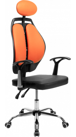 Офісне крісло GT Racer X-W1032 Orange