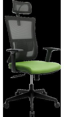 Офисне крісло GT Racer X-W172 Black/Green