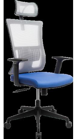 Офисне крісло GT Racer X-W172 Blue/Gray