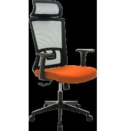 Офісне крісло GT Racer X-W48 Black/Orange