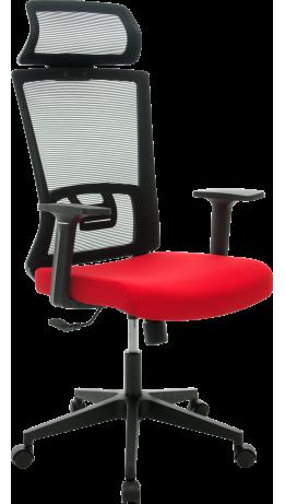 Офісне крісло GT Racer X-W48 Black/Red