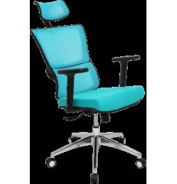 Офісне крісло GT Racer X-W50 Black/Blue
