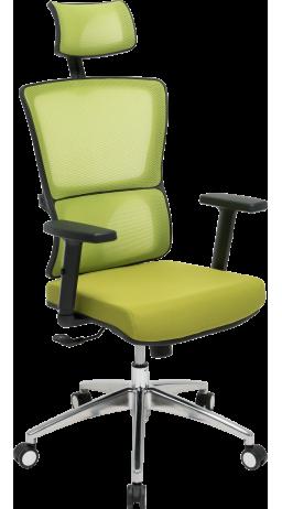 Офісне крісло GT Racer X-W50 Black/Green
