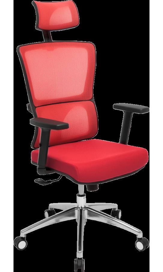 Офісне крісло GT Racer X-W50 Black/Red