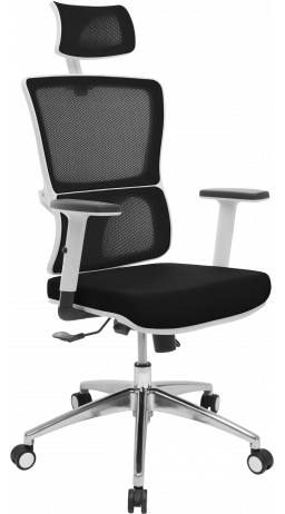 11Офісне крісло GT Racer X-W50 White/Black