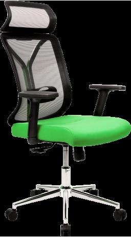 11Офисне крісло GT Racer X-W80 Black/Green