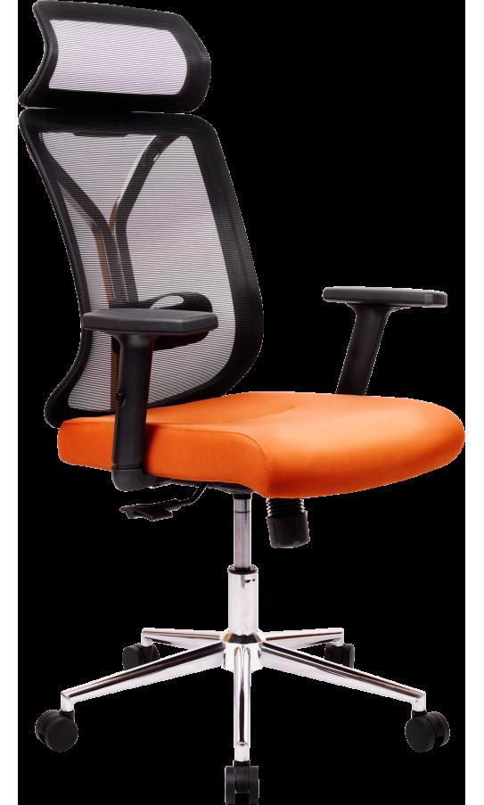 Офисне крісло GT Racer X-W80 Black/Orange