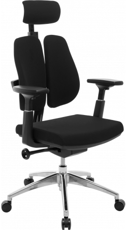 11Офісне крісло GT Racer X-W95 Black