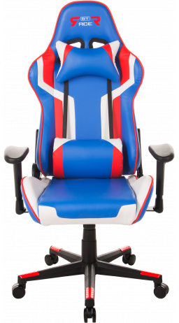 Gaming chair GT Racer X-2530 Blue/White/Red