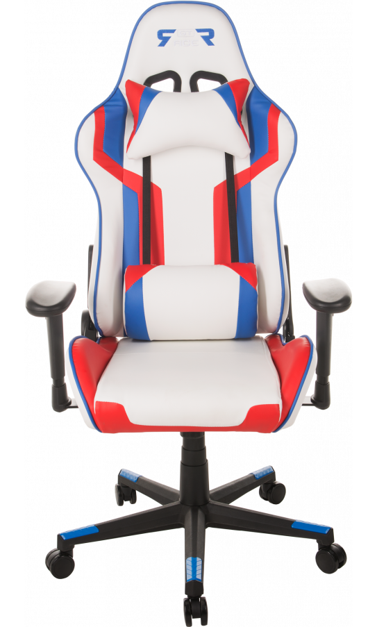 Admirable Gaming Chair Gt Racer X 2530 White Blue Red Gmtry Best Dining Table And Chair Ideas Images Gmtryco