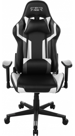 Gaming chair GT Racer X-2530 Black/Gray/White