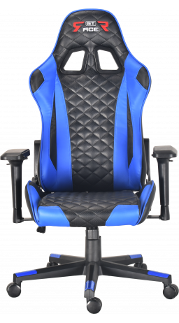 Gaming chair GT Racer X-2563-1LP Black/Blue