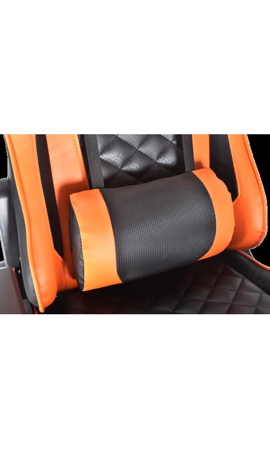 Геймерское кресло GT Racer X-2563-1LP Black/Orange