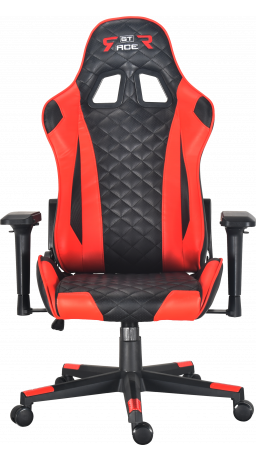 Gaming chair GT Racer X-2563-1LP Black/Red
