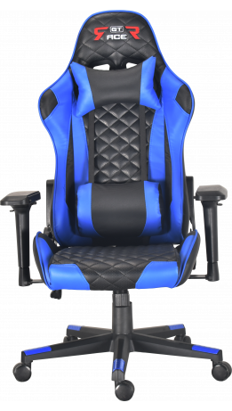 Геймерське крісло GT Racer X-2563-1LP Black/Blue