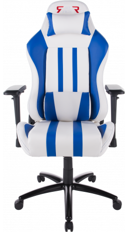 Gaming chair GT Racer X-2608 White/Blue
