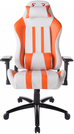 Gaming chair GT Racer X-2608 White/Orange