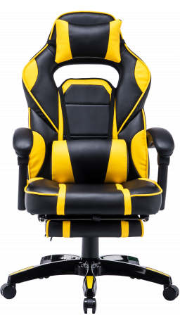Gaming chair GT Racer X-2749-1 Black/Yellow