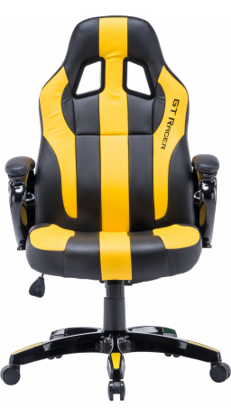 Gaming chair GT Racer X-2774 Black/Yellow