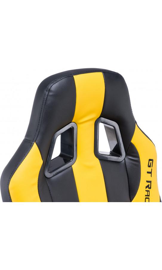 Геймерське крісло GT Racer X-2774 Black/Yellow