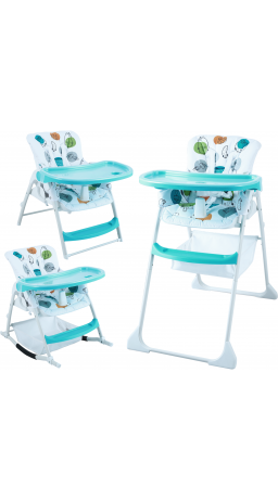 Feeding chair 3 in 1 GT Baby HC-01 Cartoon blue