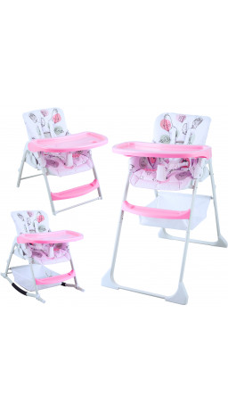 Feeding chair 3 in 1 GT Baby HC-01 Cartoon pink