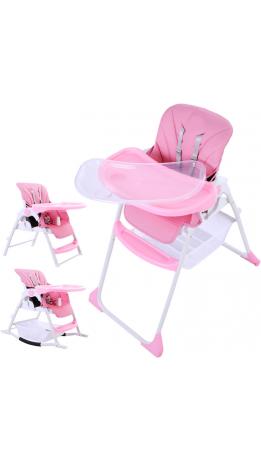 Стільчик для годування 3 в 1 GT Baby HC-01 Pink
