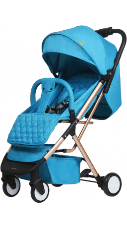 Прогулянкова коляска GT Baby 1802 Gold/Blue