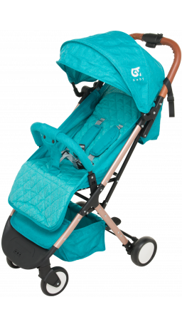 Children's stroller GT Baby 1802 Gold/Blue