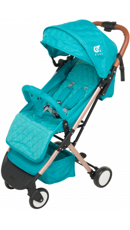 Прогулянкова коляска GT Baby 1802 Gold/Blue